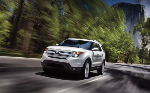 The 2013 Ford Explorer Limited is powered by a 3.5-liter V6 cranking out 290 horsepower.