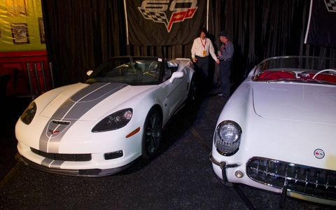 2013 marks the 60th anniversary for the Chevrolet Corvette.