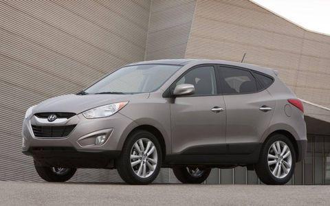 Flash Drive Gallery: 2010 Hyundai Tucson