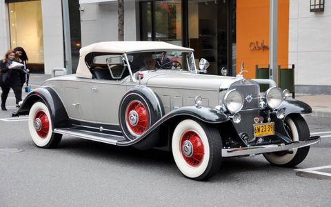 An early V12 Cadillac.