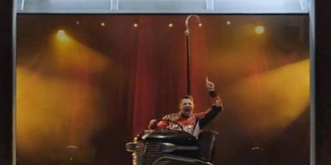 Tony Stewart has been in a number of TV advertisements over the years. Which one is your favorite?