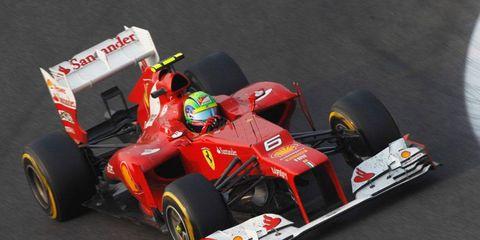 Ferrari has extended Felipe Massa's contract through 2013.