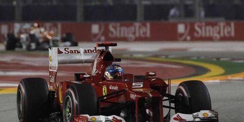 Fernando Alonso had a good run on Saturday, finishing fourth in Korean qualifying.