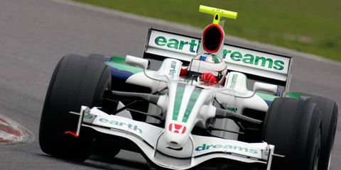 Honda last raced in Formula One in 2008.