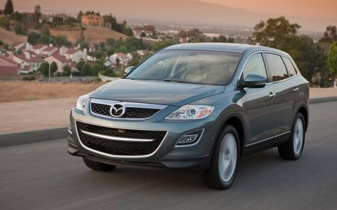 The 2012 Mazda CX-9 Grand Touring is forgettable, but one of the best seven-seaters available.