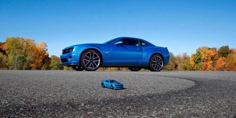 Chevy is putting a limited number of Hot Wheels Edition Camaros into production next year.