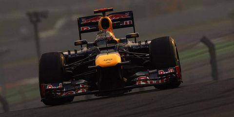 Sebastian Vettel denied that he was leaving Red Bull for Ferrari.