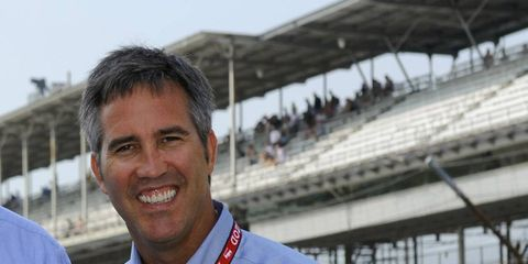 After several days of speculation, Randy Bernard is no longer the CEO of IndyCar.