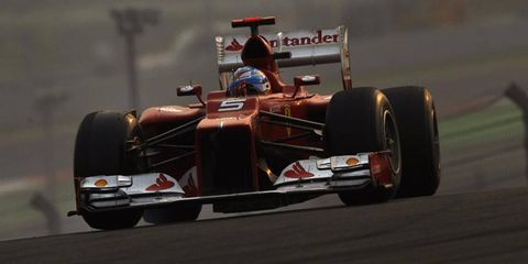 Even though he trails Vettel by 13 points in the championship standing, Fernando Alonso still thinks he's got a chance to take home the crown.