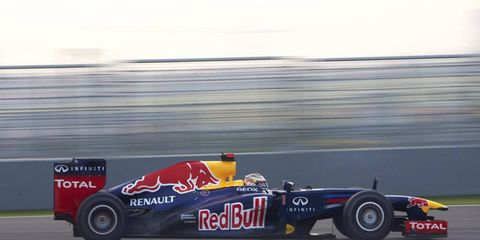 Sebastian Vettel lead every lap of the India Grand Prix on Sunday.
