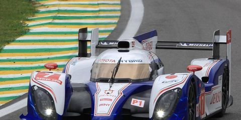 Alex Wurz took the World Endurance pole in China behind the wheel of his Toyota.
