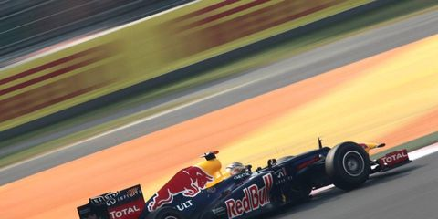 Sebastian Vettel continued his Formula One dominance with another pole in India.