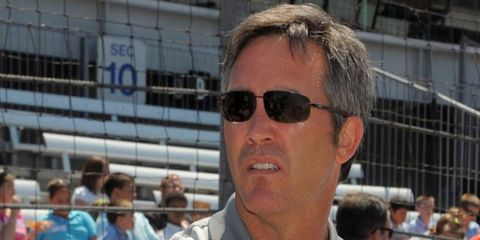 IndyCar CEO Randy Bernard was the center of much speculation on Friday.