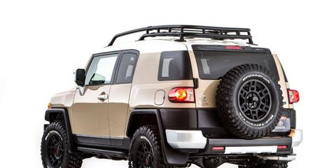 Toyota will bring this TRD-tuned FJ to SEMA in Las Vegas.