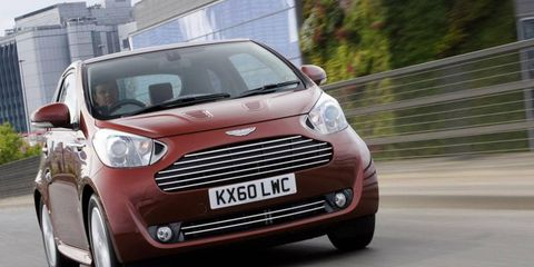 In stock form, the Aston Martin Cygnet isn't all that appealing. Throw a V12 into the mix, though, and you've got our attention.