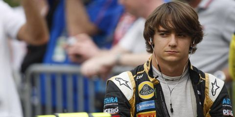 Esteban Gutierrez will be in the Sauber car for the first practice session in India on Friday. He will replace Sergio Perez, who is ill but expected back for the remainder of the weekend.