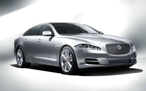 The 2012 Jaguar XJL Portfolio is all about refinement in power delivery, ride, and quietness.