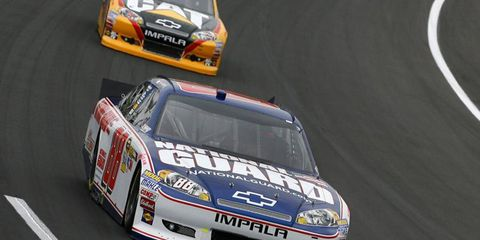 Regan Smith, shown in his most recent Cup ride, will be a full-time Nationwide driver next season.