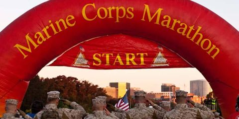 <i>Autoweek</i> contributor Jeff Bolton and wife Blaine will be competing in the Marine Corps Marathon in Washington, D.C. on Oct. 28.