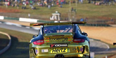 The JDX Racing Porsche 911 GT3 Cup