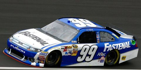 Carl Edwards has not won in the Sprint Cup Series since February, 2011.