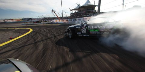 Think of drifting as 700-hp synchronized swimming.