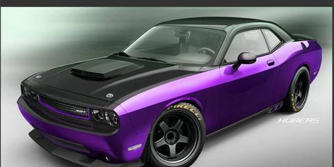 Jeff Dunham worked with SRT, Mopar and Palmer's Customs on Project UltraViolet.
