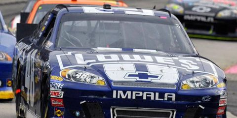 Jimmie Johnson's win at Martinsville on Sunday clinched Chevrolet's 36th NASCAR Manufacturers' Championship.