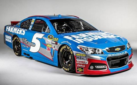 Kasey Kahne will be behind the wheel of a new Chevrolet SS in 2013.