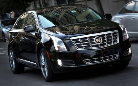 The V6-powered 2013 Cadillac XTS Premium Collection is no autobahn-burner like its CTS and ATS siblings, but it's no slouch either.