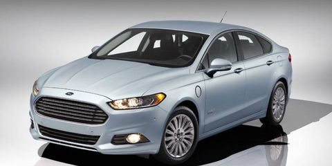 The Ford Fusion and C-Max Energi benefit from EV+.