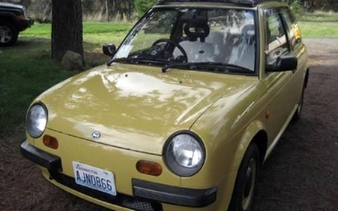 This 1987 Nissan Be-1 may represent the first of a wave of tiny, cool Japanese cars old enough to be legally imported by American collectors.