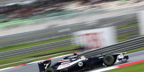 Pastor Maldonado is convinced he could have finished in second place at Abu Dhabi if not for a KERS problem.