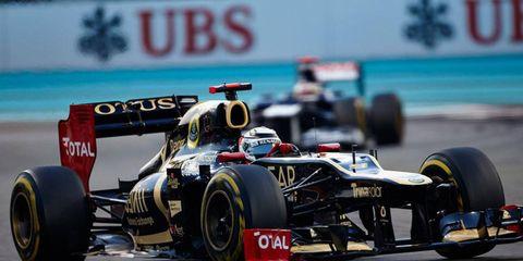 Lotus finally broke through for its first win of the Formula One season, thanks to Kimi Räikkönen's strong run in Abu Dhabi.