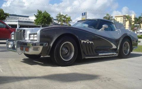 This Corvette Caballista is located in--you guessed it--Florida.