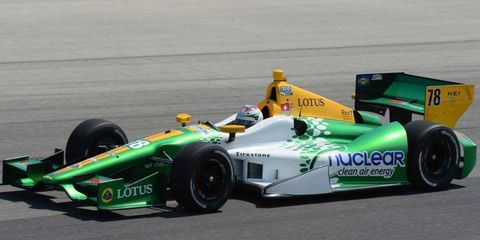 Simona De Silvestro drove an HVM Lotus in IndyCar this year. HVM will enter the World Endurance Championship in 2013.