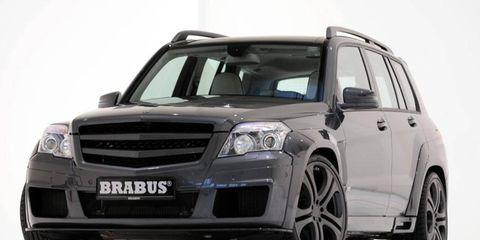 Mercedes GLK tuned by BRABUS