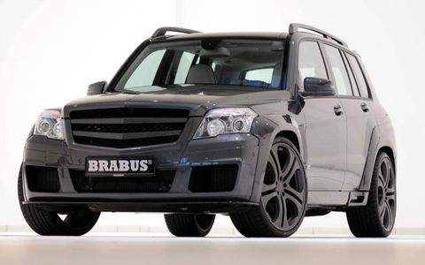 Mercedes GLK tuned by BRABUS