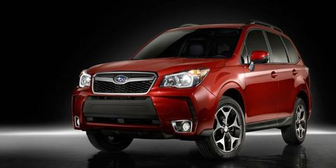 The redesigned 2014 Subaru Forester is roughly the same size as the current model, but it gets a bigger interior and a new 2.0-liter turbocharged engine option.