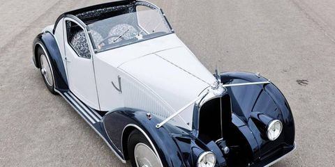 This one-off 1934 Voisin C27 Aerosport originally sold for 90,000 French Francs. Its current market value? $2.75 million.