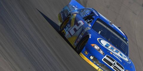 Brad Keselowski has his eye on his first Sprint Cup title.