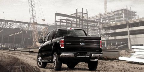 Our 2012 Ford F-150 XLT SuperCrew pickup ditched a V8 in favor of a twin-turbocharged EcoBoost V6. Aside from the lack of a high-displacement growl, we didn't miss those two extra cylinders too much.