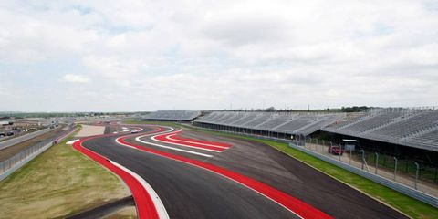 The U.S. Grand Prix is going to happen this weekend in Austin, at the brand new Circuit of the Americas race track.