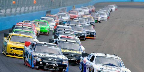 NASCAR released its 33-race 2013 Nationwide Series schedule on Tuesday.