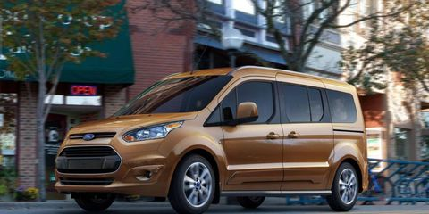 Ford has announced the 2014 Ford Transit Connect Wagon, which is expected to go on sale in fall 2013.