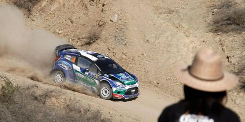 Officials of Rally Mexico are changing the course in an effort to combat people who were throwing rocks at cars during the 2012 rally.
