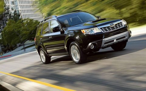 The 2012 Subaru Forester 2.5XT Touring is a capable, competent crossover--a good option for those who have matured beyond the Impreza WRX but don't need an Outback.