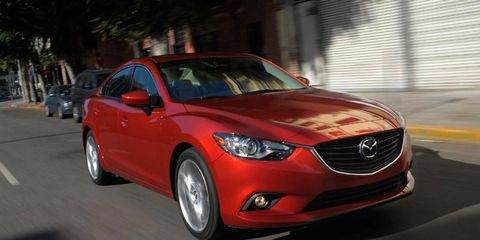 The 2014 Mazda 6 will be offered in the US with a clean diesel engine.