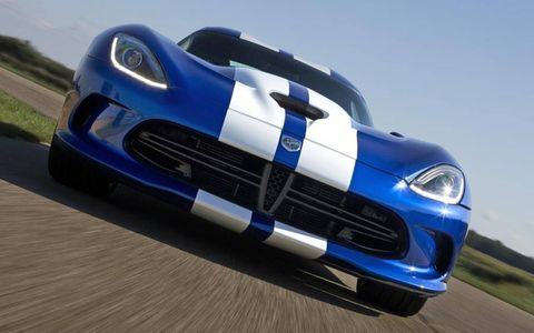 At just under $100k, the SRT Viper tops out the 2013 Hagerty Hot List -- but its style and performance make it an easy choice.