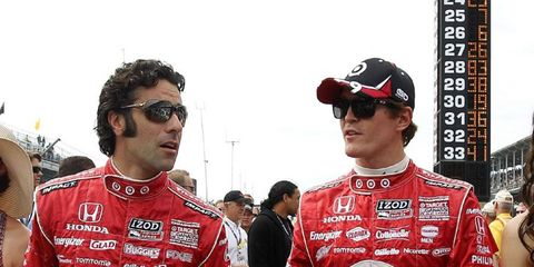 A visit with Franchitti and Dixon is one of the items for bid at the CARA auction.